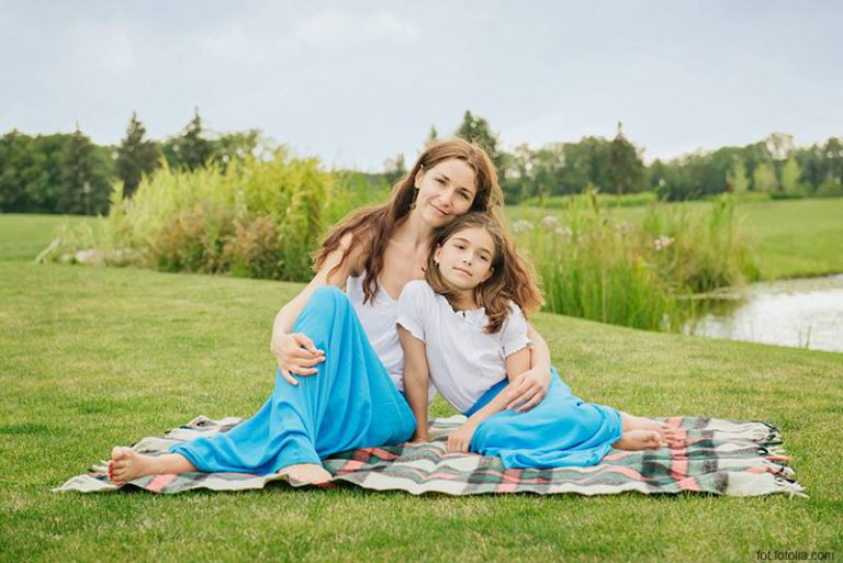 Identyczne zestawy dla mamy i córki na wiosnę