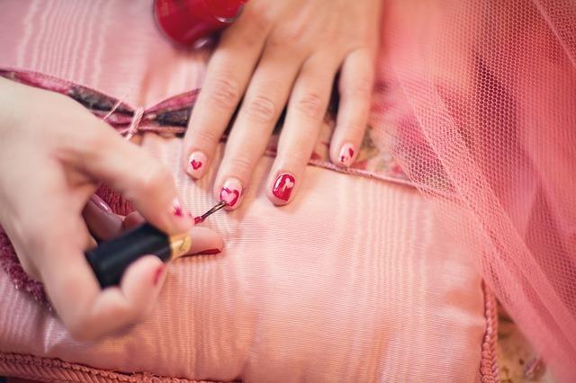 Piękne i zadbane paznokcie