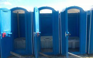 Przenośne toalety gdzie brakuje centralnego systemu kanalizacji