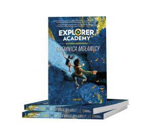 """Niezwykła lektura dla młodych miłośników przygód – """"Explorer Academy. Tajemnica mgławicy"""""""