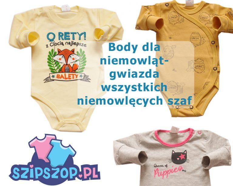 Body niemowlęce – przełomowe ubranka z wyprawki dla niemowląt