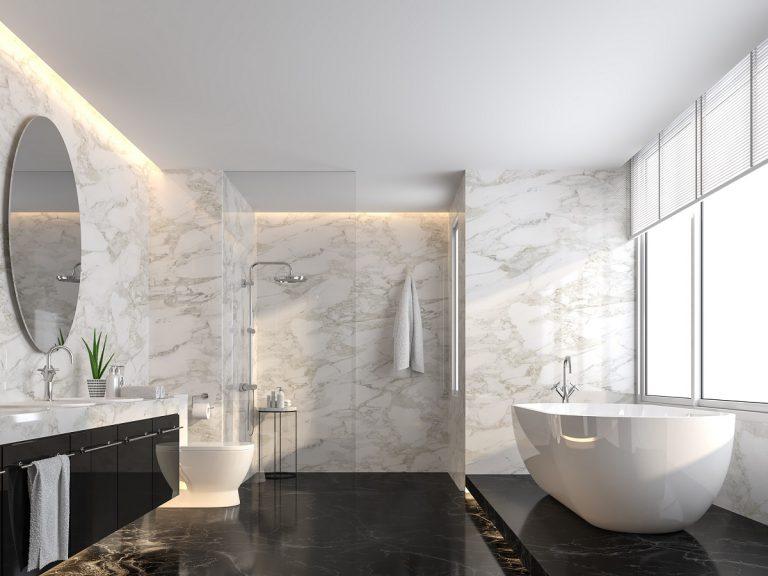 Poznaj ciekawe inspiracje na dekory ścienne do łazienki