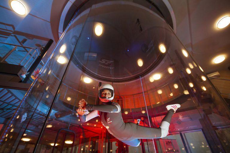 Loty w tunelu aerodynamicznym także dla dzieci i młodzieży!