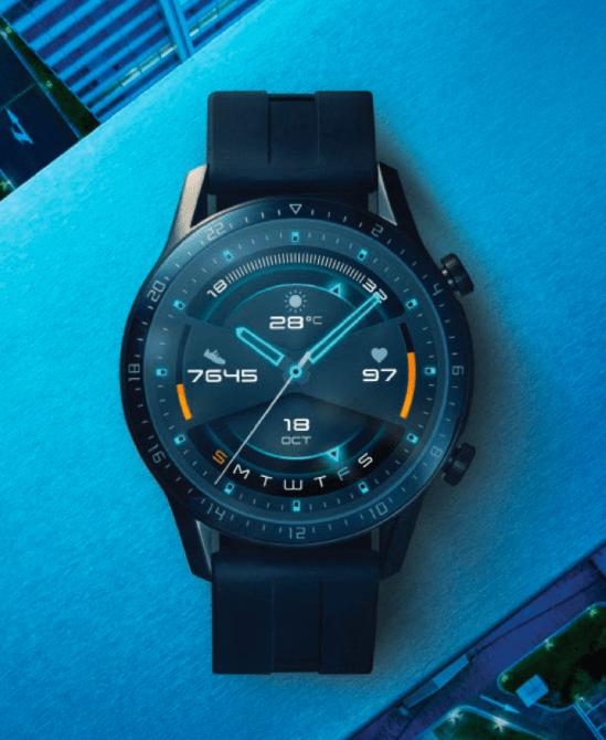 Zegarek GT2 Elegant – Schludny i Wydajny